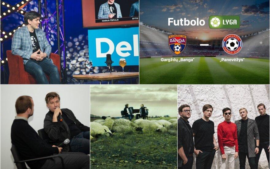 Savaitgalio Delfi TV programa