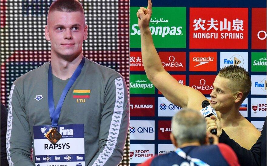 Auksinis Danas: finale dominavęs Rapšys užsitikrino šešiaženklį čekį