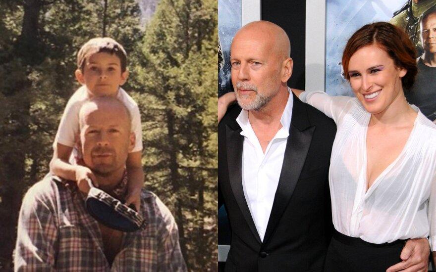 Rumer Willis ir Bruce Willis