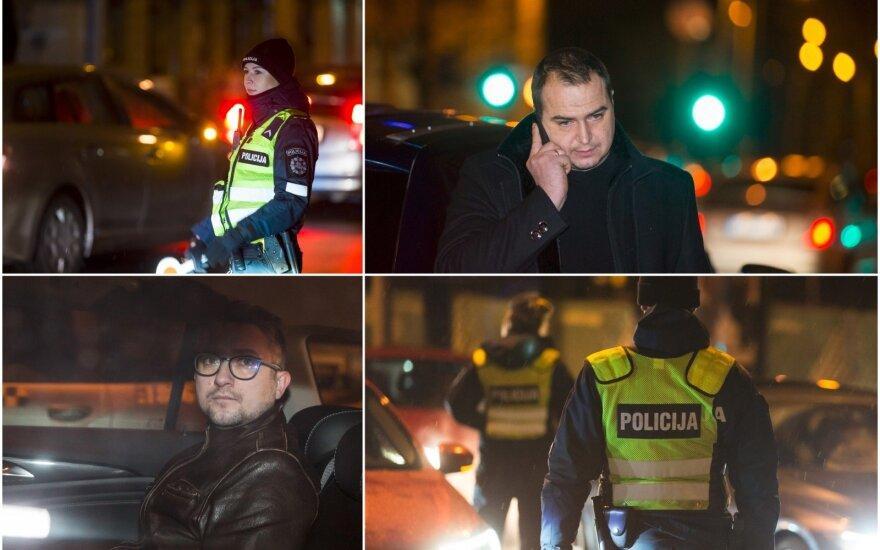 Savaitgalis tarpušvenčiu: naktinį reidą surengę pareigūnai pričiupo tris girtus vairuotojus