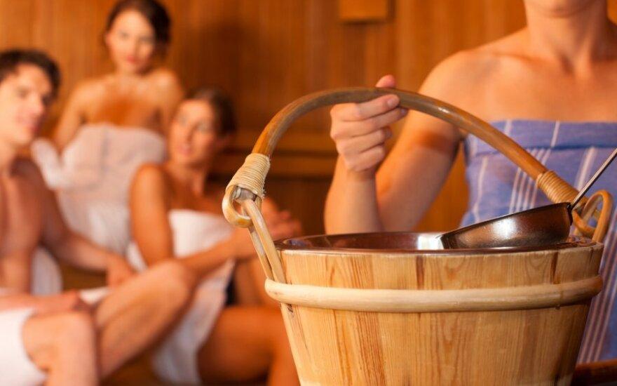 Dažnas lankymasis saunoje kenkia vyrų vaisingumui