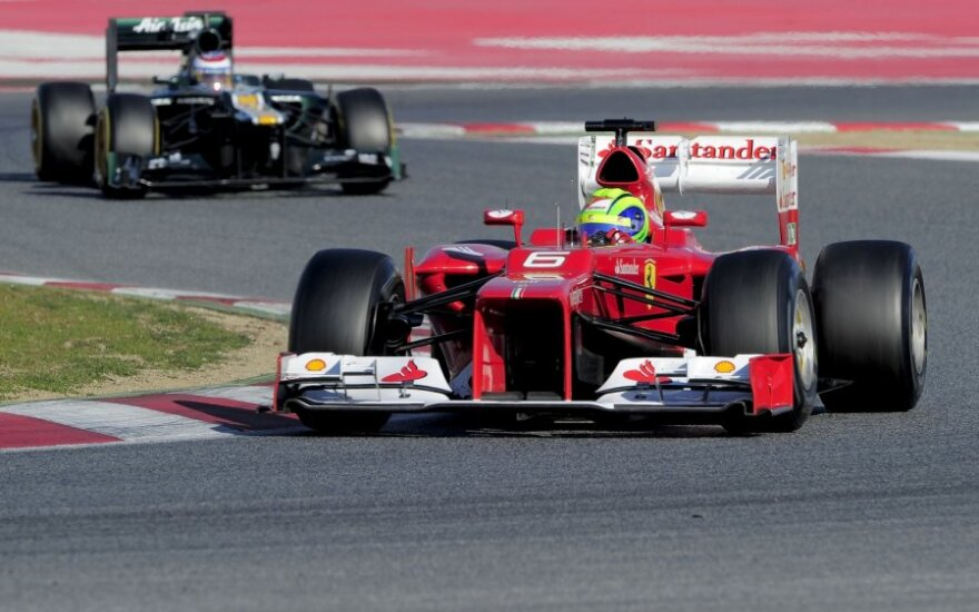 """Felipe Massa su """"Ferrari"""""""