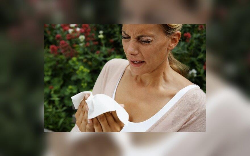 Kaip sušvelninti pavasarinės alergijos simptomus