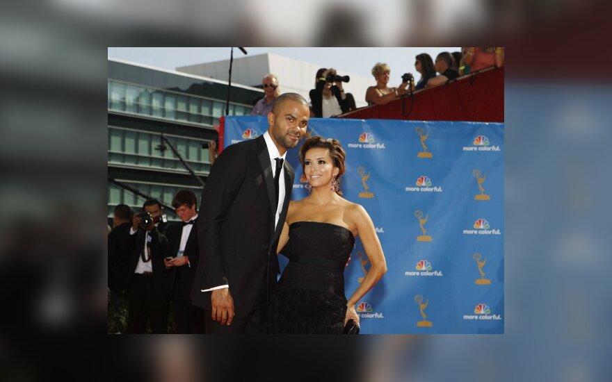 Tony Parkeris su žmona Eva Longoria Parker