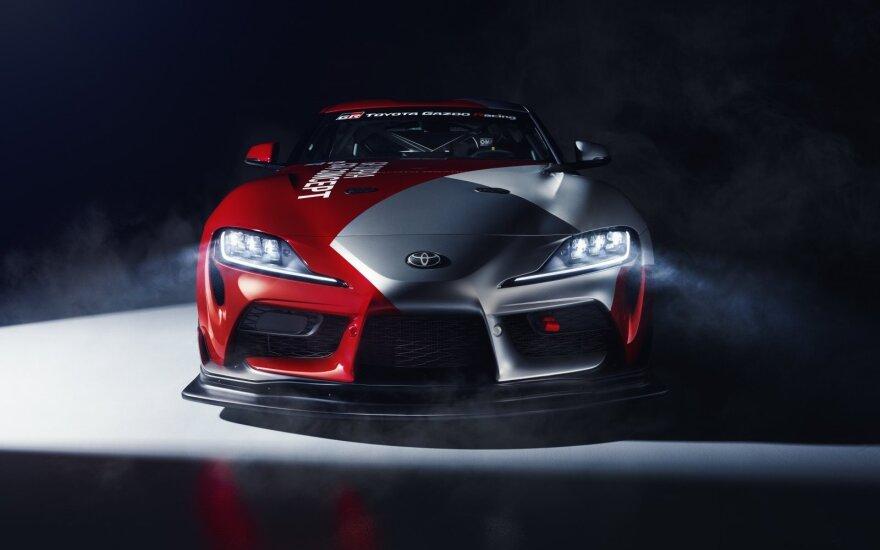 """Naujas """"Toyota GR Supra GT4"""" koncepcinis modelis"""