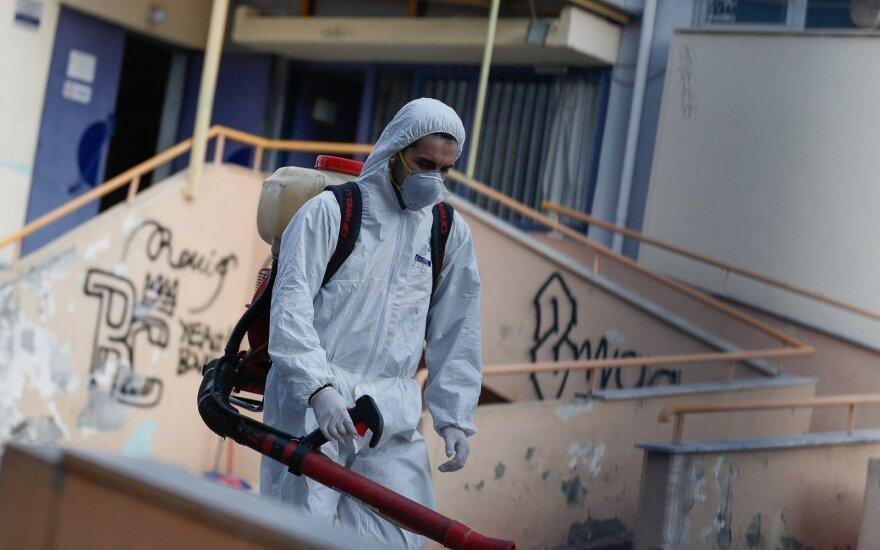 Egipte užfiksuotas pirmas mirties nuo koronaviruso atvejis