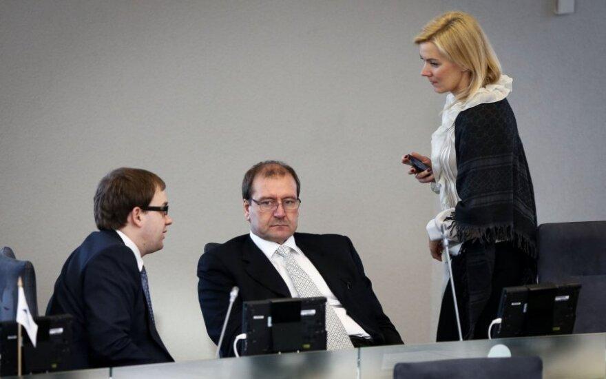 Vytautas Gapšys, Viktoras Uspaskichas ir Vitalija Vonžutaitė