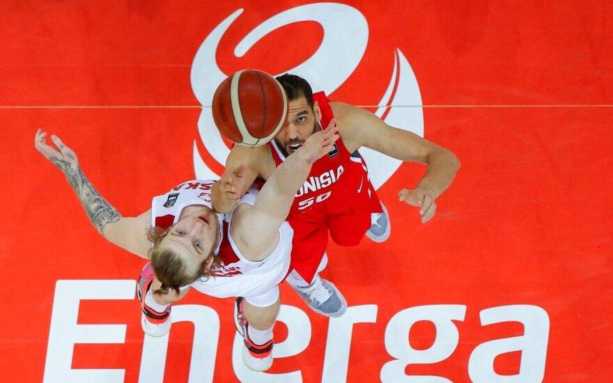 Draugiškos krepšinio rungtynės Lenkija - Tunisas (Foto: PZK)