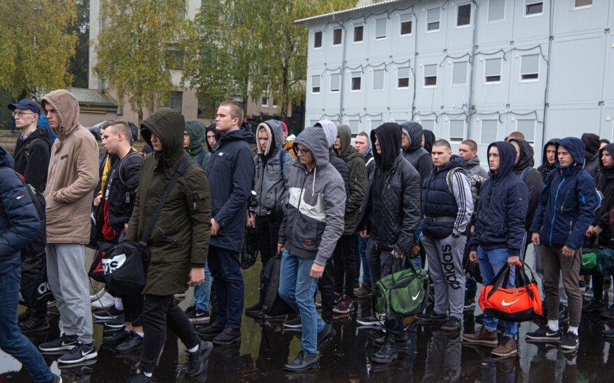 Vaidoto batalione tarnybą pradėjo 5-oji šauktinių laida