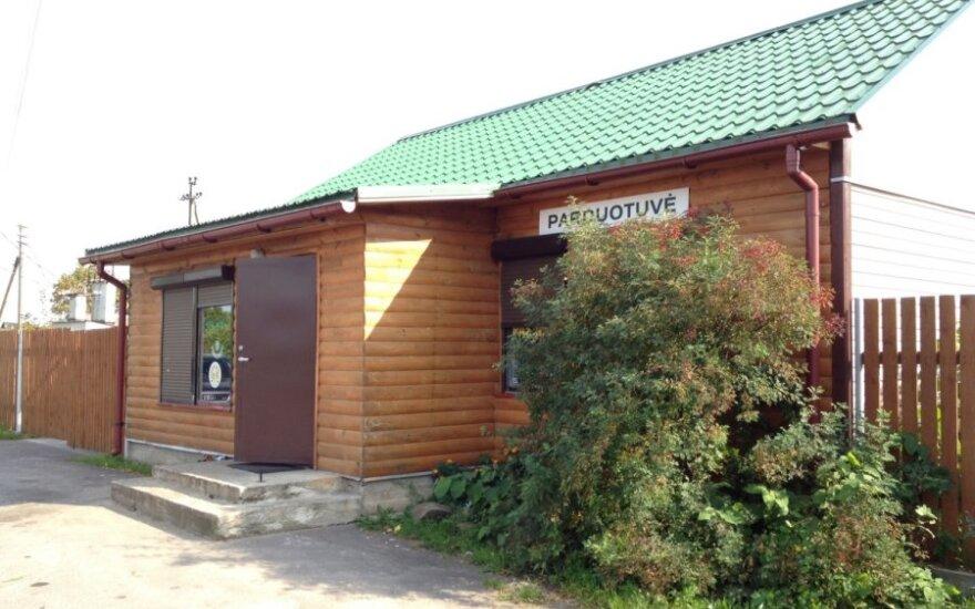 Parduotuvė Parudaminio kaime