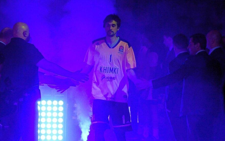 """""""Chimki"""" su Švedu ir Bostu laidė tritaškius, CSKA – dvitaškius"""