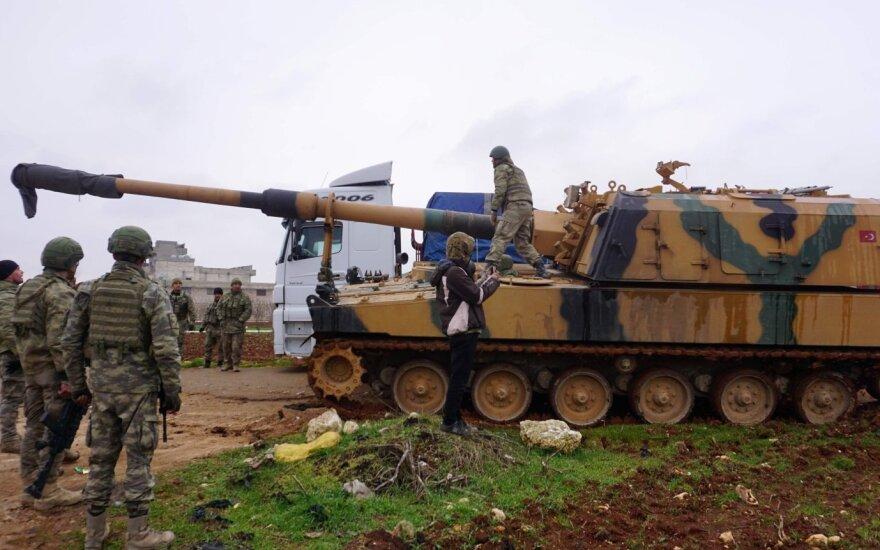 Iš Turkijos – nauji grasinimai dėl Sirijos: imsimės bet kokių priemonių