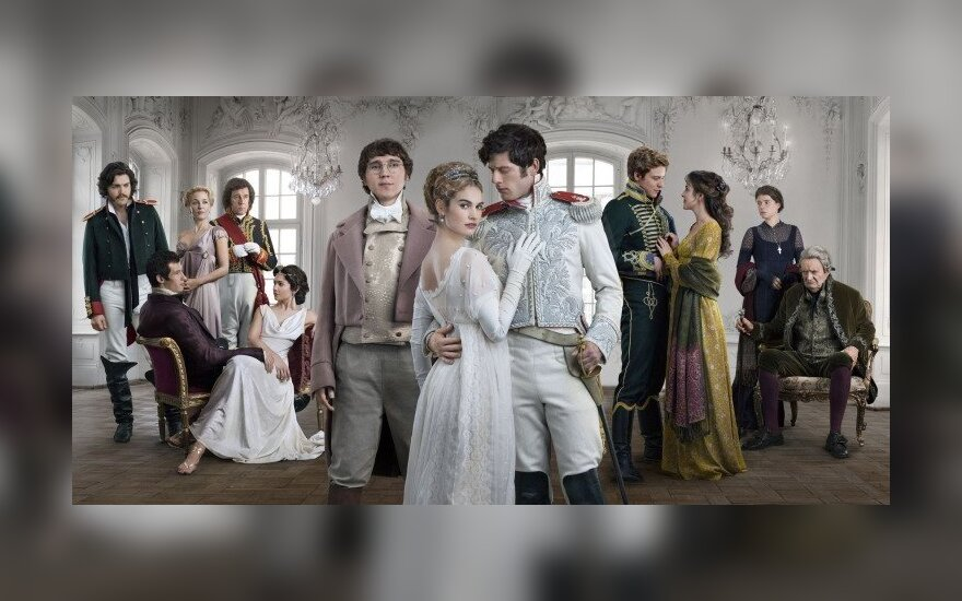 The cast of BBC's War and Peace