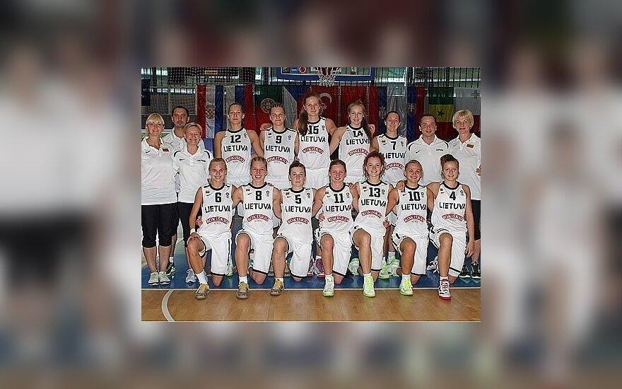 Lietuvos 18-mečių merginų krepšinio rinktinė
