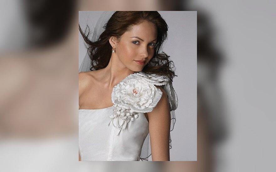 Vestuvės, nuotaka, suknelė