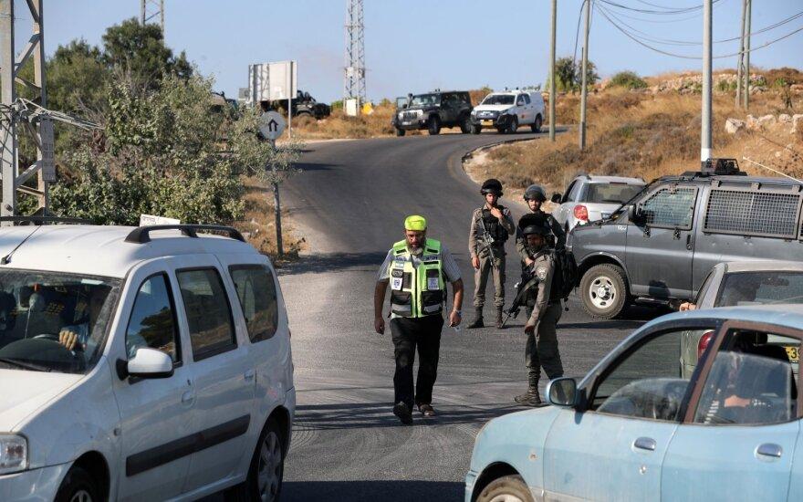 Vakarų Krante izraeliečių sargybiniai nušovė peiliu ginkluotą palestinietį