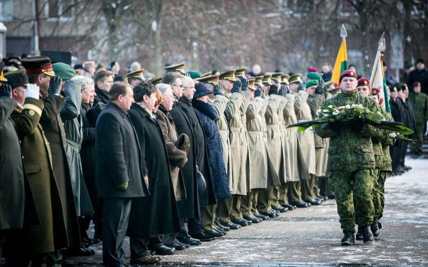 25 year anniversary of the Lithuanian National Defense Volunteer Force