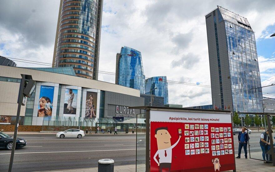 Laikinai perkeliama Europos aikštės viešojo transporto stotelė