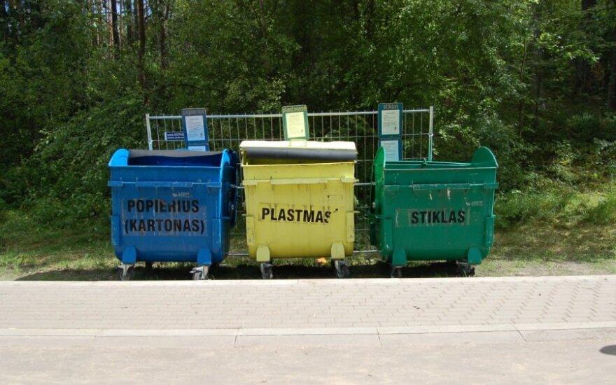 Rūšiavimo konteineriai