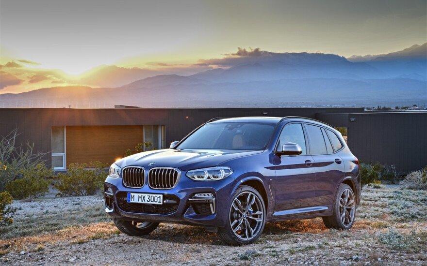 "Trečios kartos ""BMW X3"""