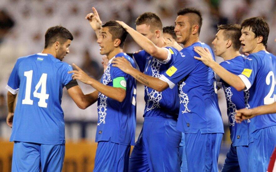 Uzbekijos futbolo rinktinė