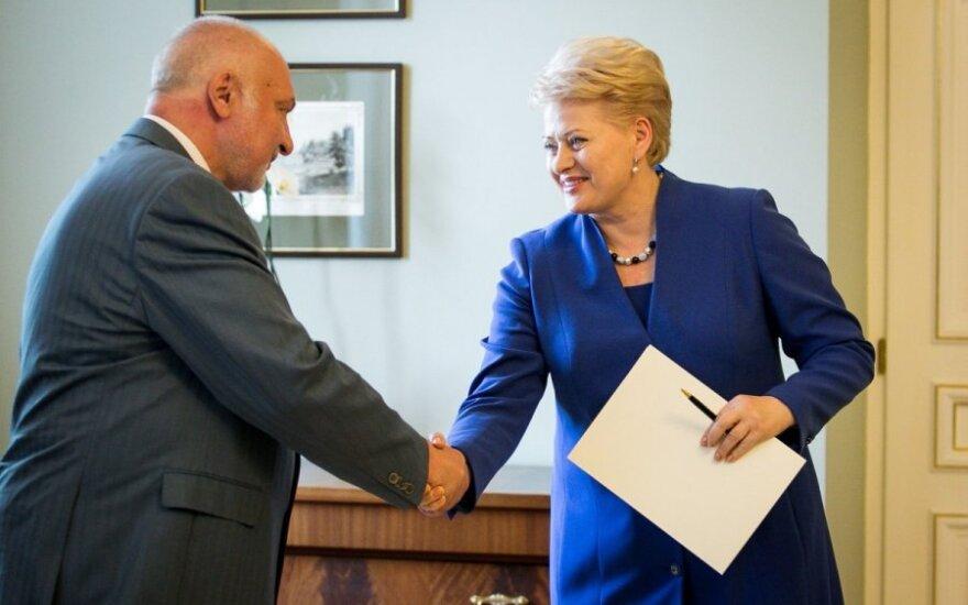 Valentinas Mazuronis ir Dalia Grybauskaitė