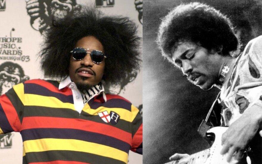 Andre Benjamin, Jimi Hendrix