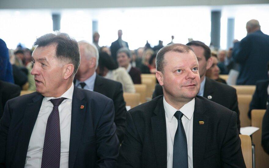 Algirdas Butkevičius, Saulius Skvernelis