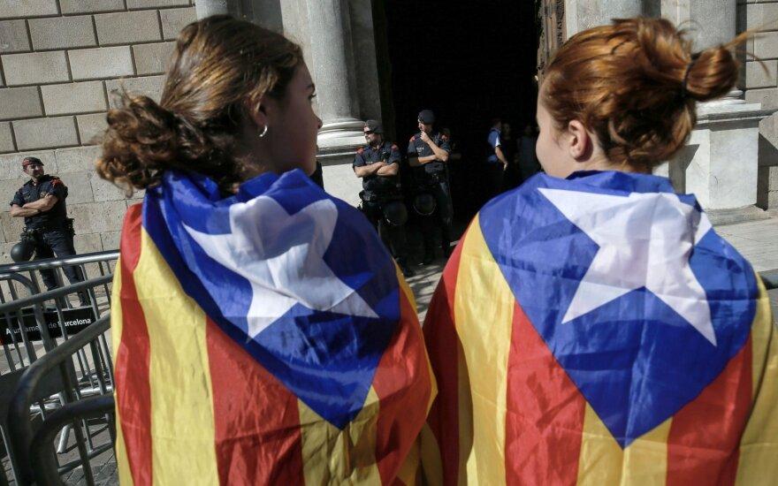 Ispanijos teismas nesutiko paleisti įkalinto kandidato į Katalonijos prezidentus