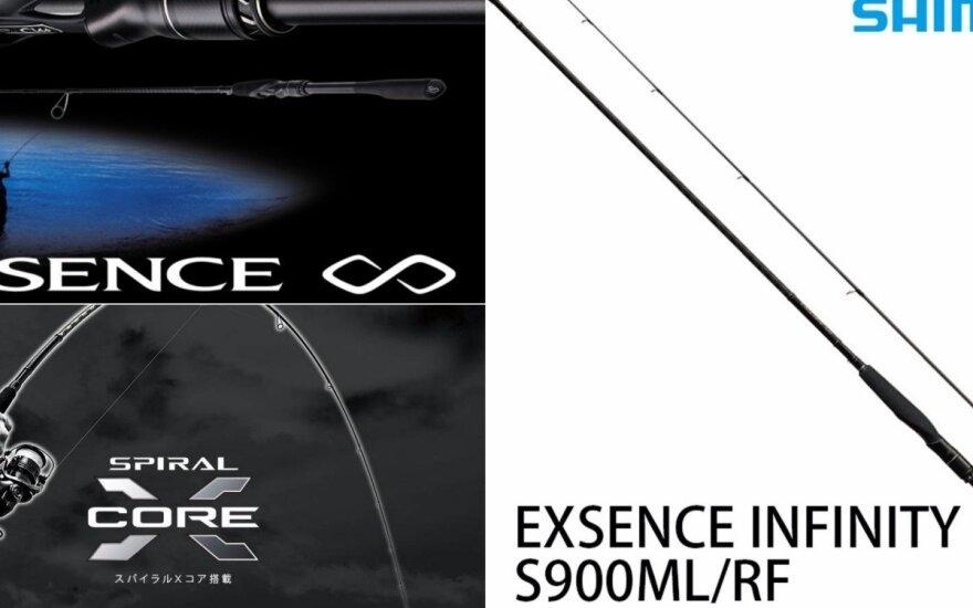 "Shimano ""Exsence Infinity"" spiningas"