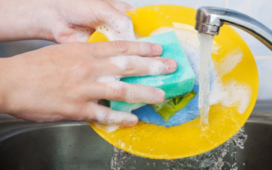 Mokslininkai perspėja: tėra vienas tinkamas būdas indų kempinei dezinfekuoti