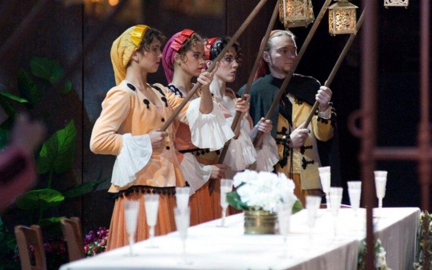 """Nauji vardai operoje """"Figaro vedybos"""""""