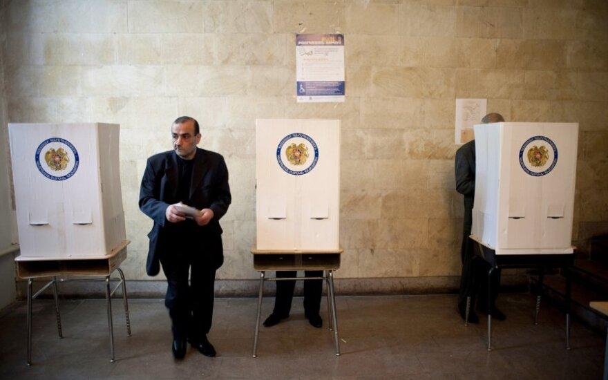 Rinkimai Armėnijoje