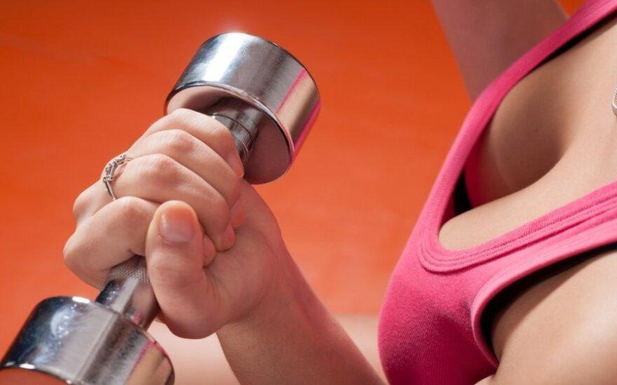 Kaip padidinti krūtinę: dieta ir pratimai