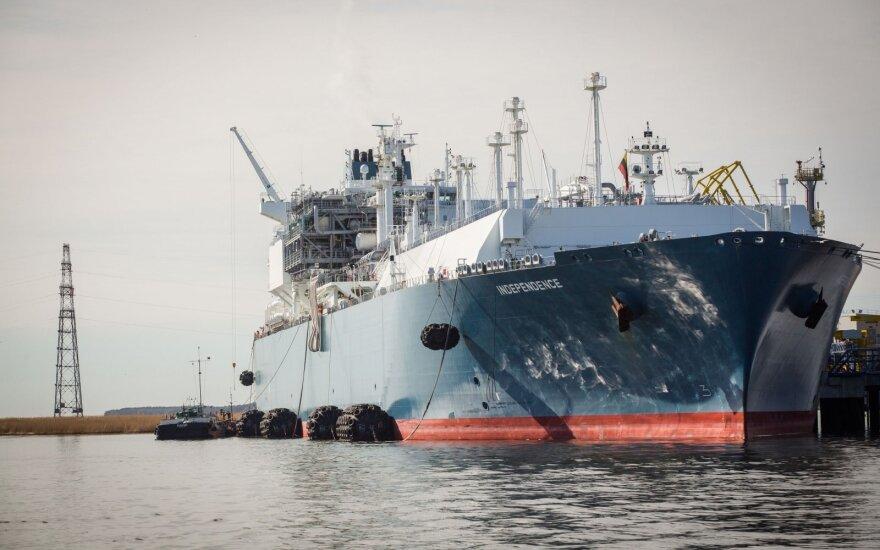 """""""Independence"""" aptarnauja pakiužęs tanklaivis """"Danė"""""""