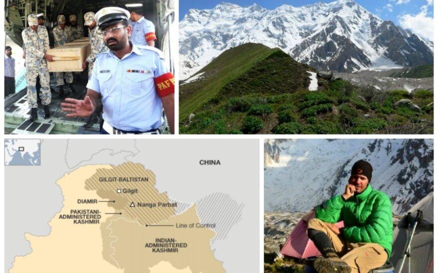 Pakistane sulaikyti 37 žmonės, kurie gali būti prisidėję prie alpinistų nužudymo