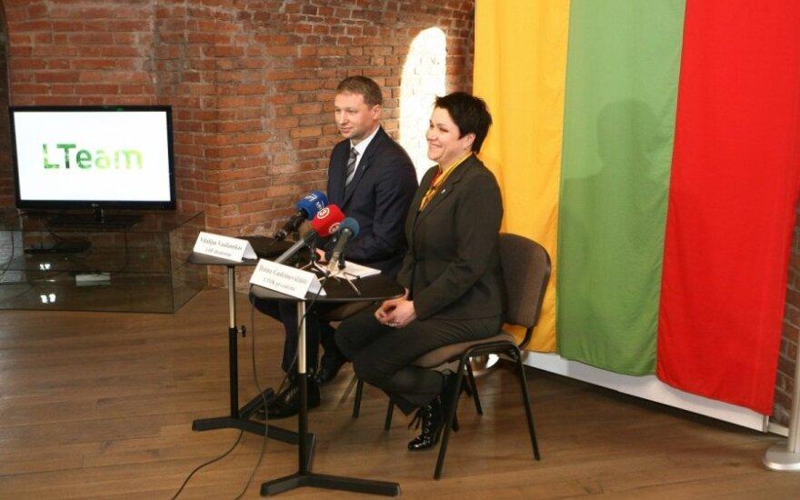 """Lietuvos olimpinė rinktinė nuo šiol vadinsis """"LTeam"""""""