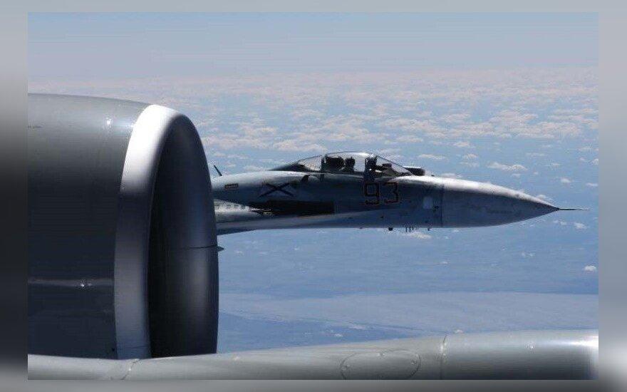 Rusijos naikintuvas Su-27