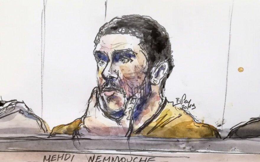 Mehdi Nemmouche'o eskizas teisme
