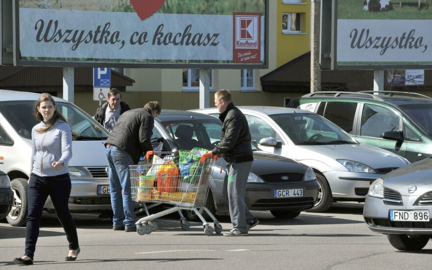 Lithuanians taking to Suvalkai stores