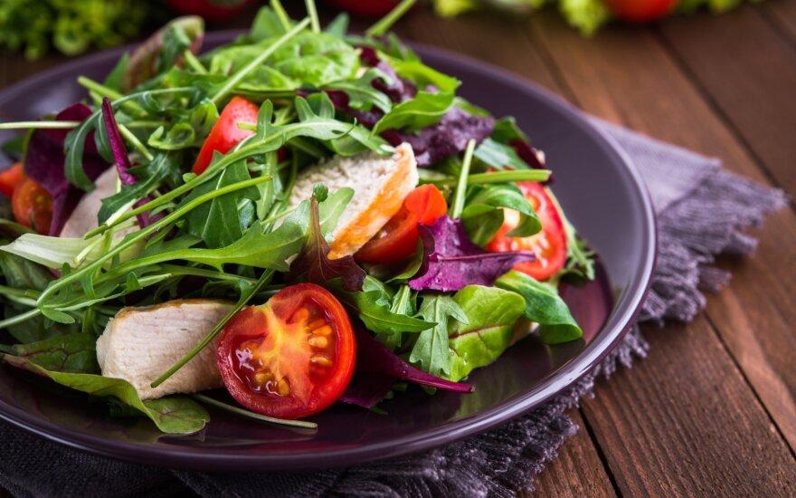 Pavasarinė dieta: minus 3 kilogramai per 10 dienų