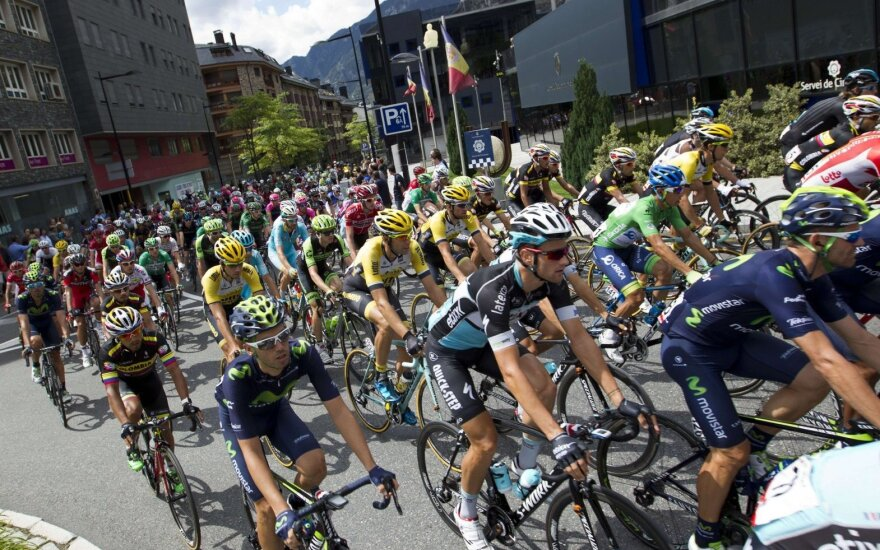 """G. Bagdonas """"Vuelta a Espana"""" lenktynėse lieka paskutinis"""