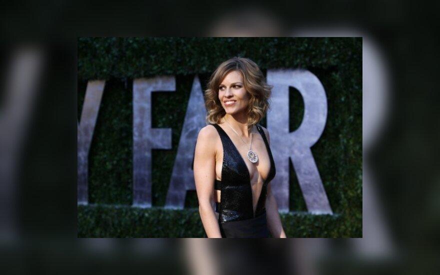 Hilary Swank, Vanity Fair oskarų vakarėlis