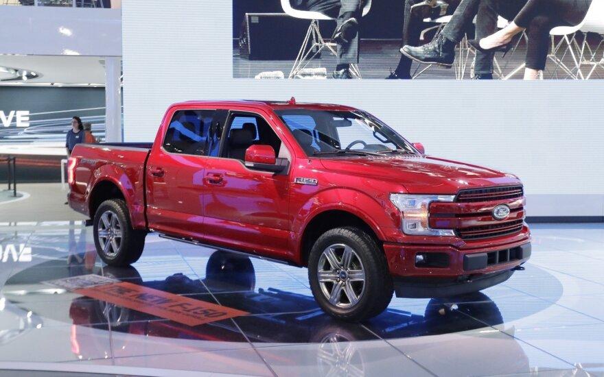 """""""Ford F-150"""" pikapas yra perkamiausias automobilis JAV"""