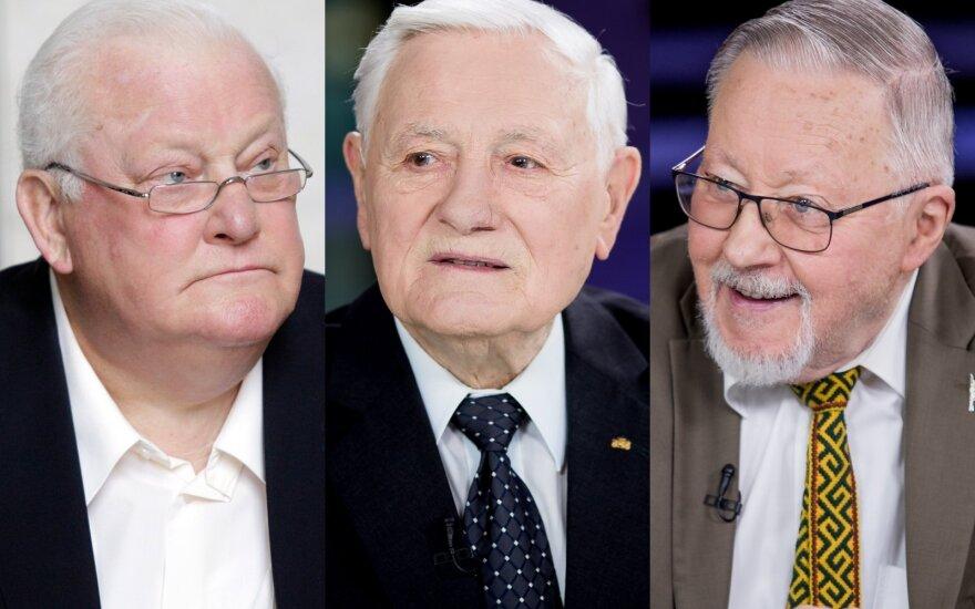 Algirdas Brazauskas, Valdas Adamkus, Vytautas Landsbergis
