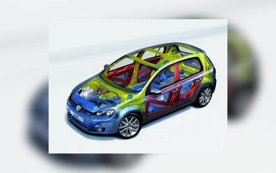 """""""Volkswagen"""" saugumas"""