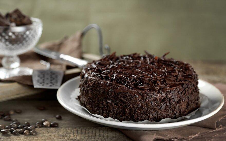 Šokoladinis pyragas kavos mėgėjams