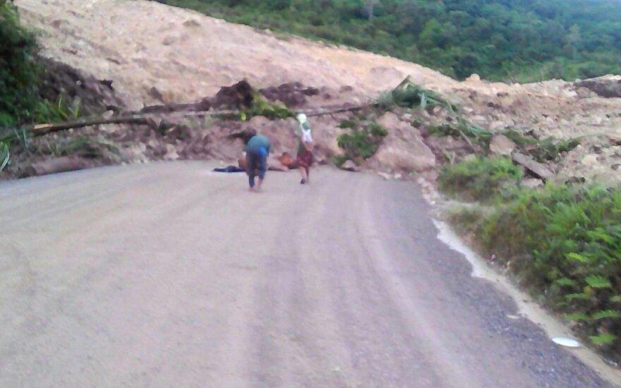 Žemės drebėjimas Papua Naujojoje Gvinėjoje