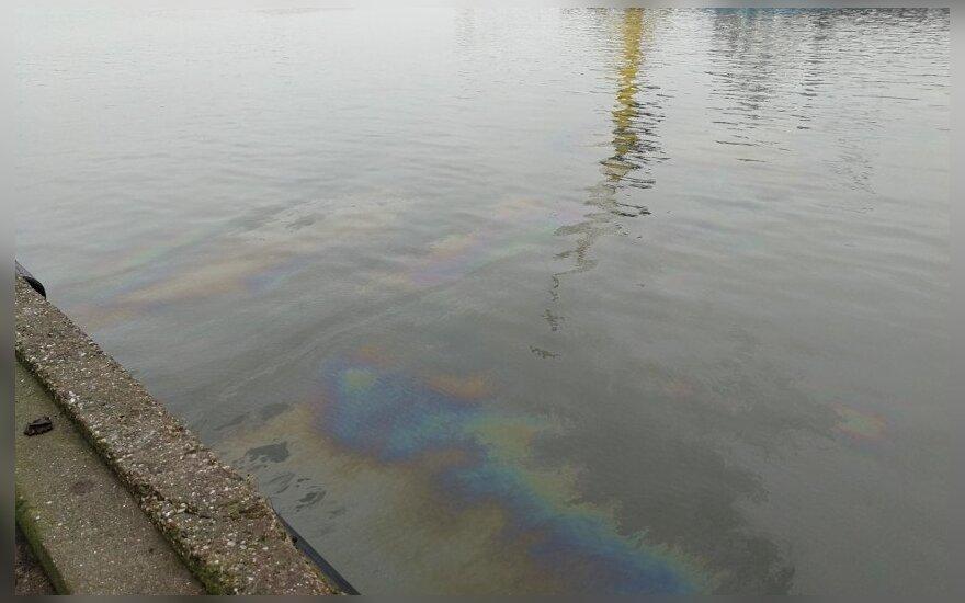 Užfiksuota tarša Klaipėdos uosto akvatorijoje