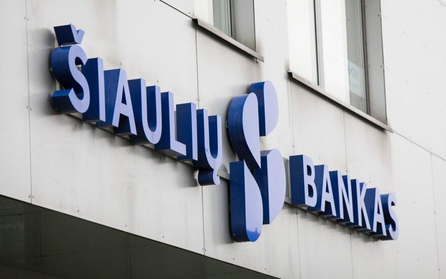 Biržoje išsiskyrė prekyba Šiaulių banko akcijomis
